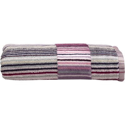 Supreme Capsule Stripe Hand Towel Color: Berry