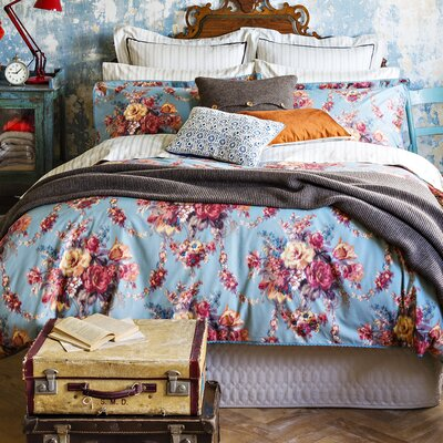Romany Duvet Cover Size: Queen