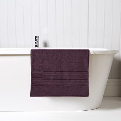 Renaissance Bath Mat Color: Fig