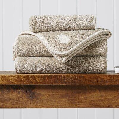 Turkish Cotton 5 Piece Towel Set Color: Pebble
