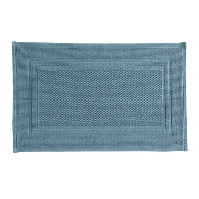 Landenberg Bath Rug Color: Denim