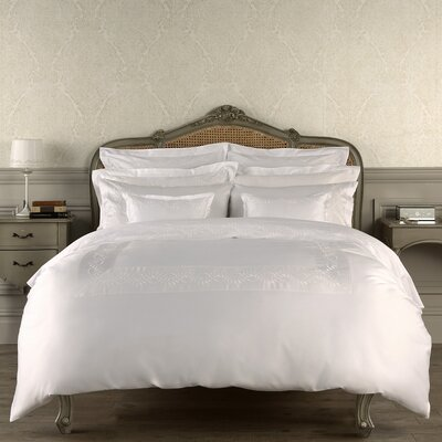 Batterson 300 Thread Count Fitted Sheet Color: White, Size: King