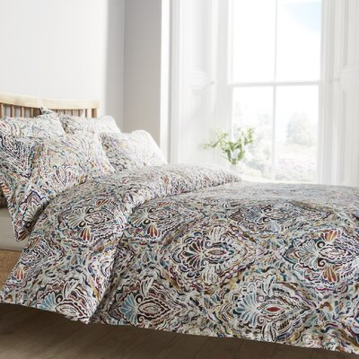 Brushgrove Duvet Cover Size: King