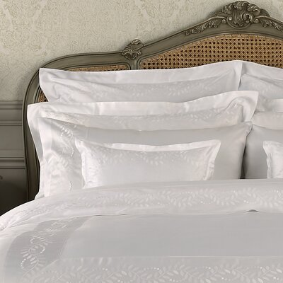 Batterson Cotton Pillow Case Size: Standard, Color: White