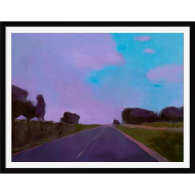 'Lost Highway' Framed Painting Print MD184A