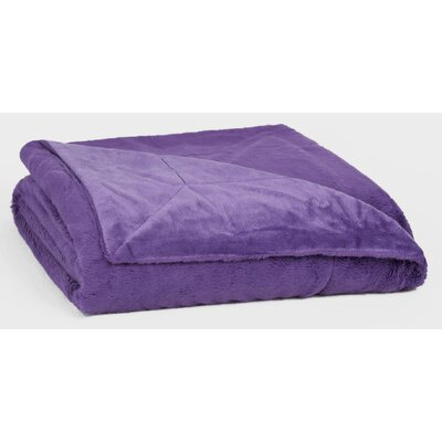 Bunnysoft� Throw Color: Smokey Purple