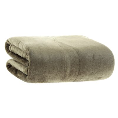 VelvetLoft� Throw Color: Burnt Olive