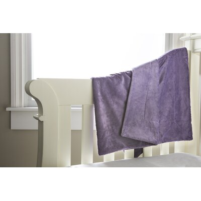 Soft and Snug Baby Blanket Color: Smokey Purple