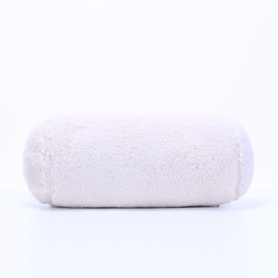 Extra-Fluffy Log Bolster Pillow Color: Chino