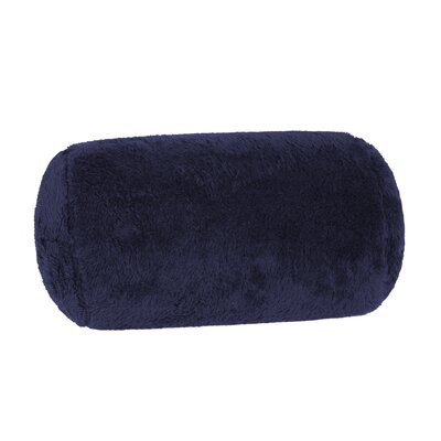 Extra-Fluffy Log Bolster Pillow Color: Atlantis