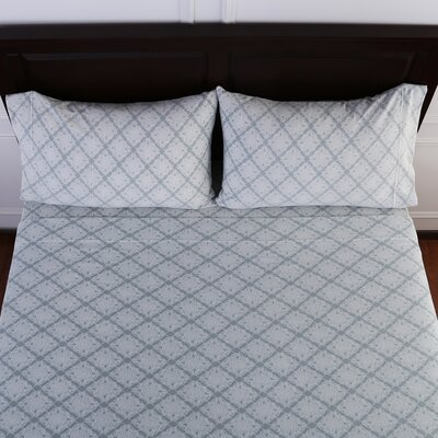 Lovely Lace Printed Microfleece� Sheet Set Size: Twin