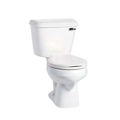 Alto 1.6 GPF Round Two-Piece Toilet Lever Location: Right-Hand