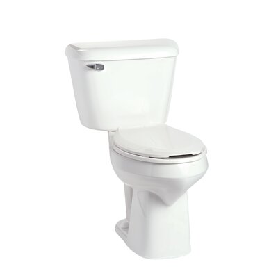 Alto SmartHeight 1.6 GPF Elongated Two-Piece Toilet Lever Location: Left-Hand