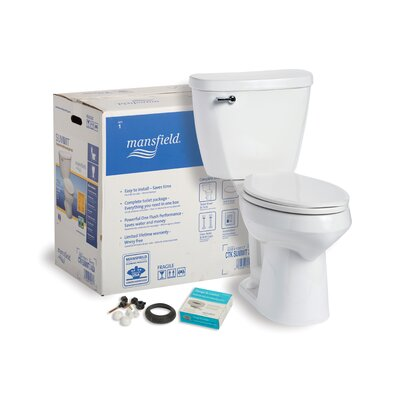 Summit CTK SmartHeight 1.6 GPF Elongated Two-Piece Toilet