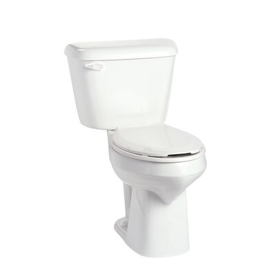 Alto SmartHeight 1.28 GPF Elongated Two-Piece Toilet Lever Location: Right-Hand