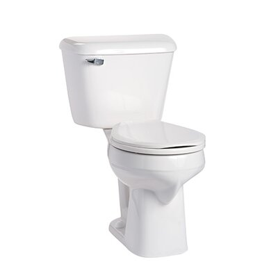 Alto SmartHeight 1.6 GPF Round Two-Piece Toilet Lever Location: Left-Hand