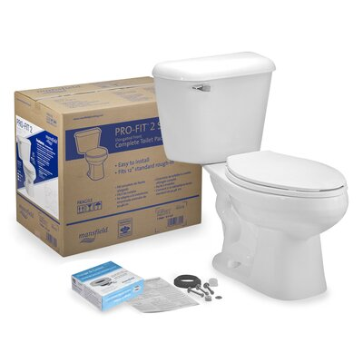 Pro-Fit 2 1.6 GPF Elongated Two-Piece Toilet