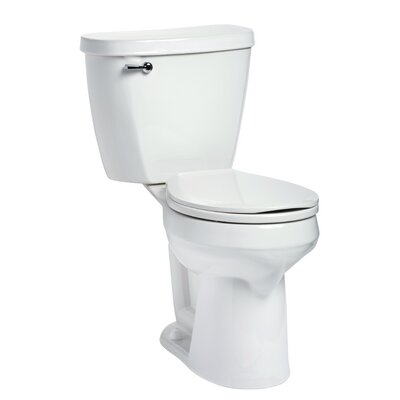 Summit SmartHeight 1.28 GPF Round Two-Piece Toilet Lever Location: Left-Hand