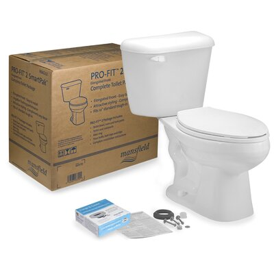 Pro-Fit 2 1.28 GPF Elongated Two-Piece Toilet