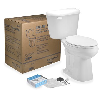 Pro-Fit 3 1.28 GPF Elongated Two-Piece Toilet