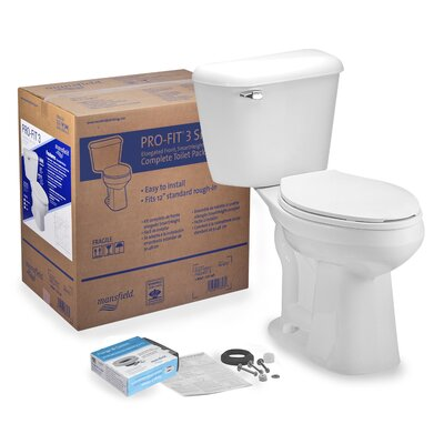 Pro-Fit 3 1.6 GPF Elongated Two-Piece Toilet