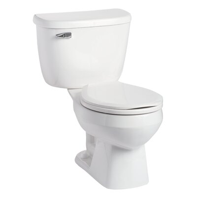 Quantum Pressure-Assist 1.6 GPF Round Two-Piece Toilet