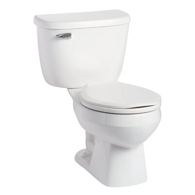 Quantum Pressure-Assist 1.0 GPF Round Two-Piece Toilet