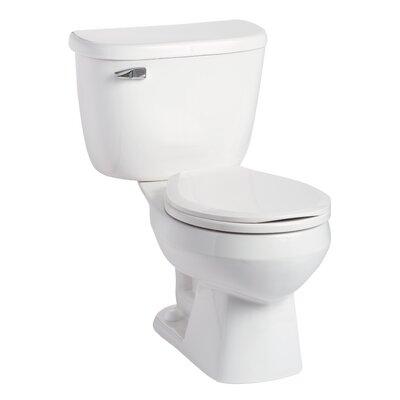 Quantum Pressure-Assist 1.0 GPF Round Two-Piece Toilet