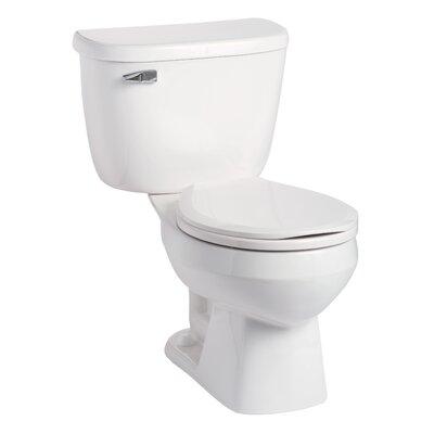 Quantum Pressure-Assist 1.28 GPF Round Two-Piece Toilet