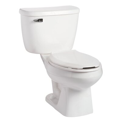 Quantum Pressure-Assist 1.6 GPF Elongated Two-Piece Toilet