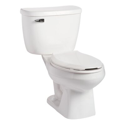 QuantumOne Pressure-Assist 1.0 GPF Elongated Two-Piece Toilet