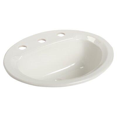 Maverick II Self Rimming Bathroom Sink Faucet Mount: 8 Centers