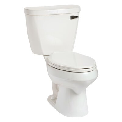 Summit 1.6 GPF Elongated Two-Piece Toilet Lever Location: Right-Hand