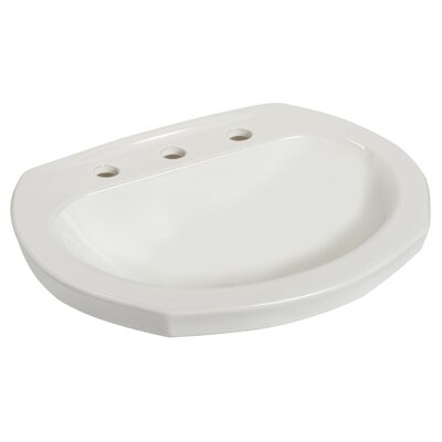Montclair Specialty Self Rimming Bathroom Sink Faucet Mount: 8 Centers