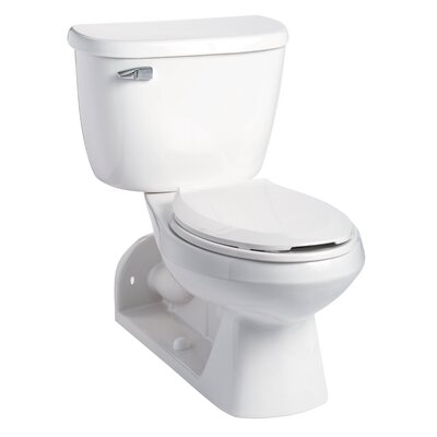 QuantumOne Pressure-Assist 1 GPF Elongated Two-Piece Toilet