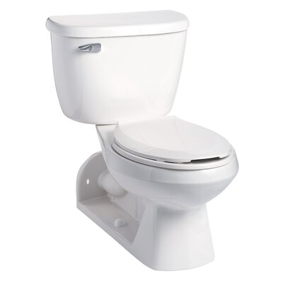 Quantum Pressure-Assist 1.28 GPF Elongated Two-Piece Toilet