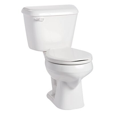 Alto 1.28 GPF Round Two-Piece Toilet