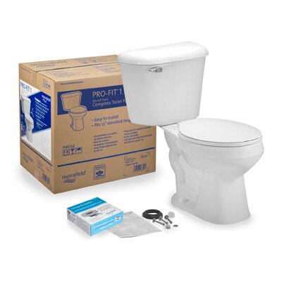 Pro-Fit 1 1.6 GPF Round Two-Piece Toilet