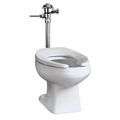 Baltic Commercial Dual Flush Elongated One-Piece Toilet