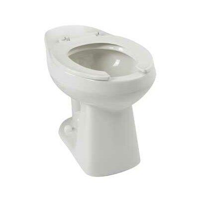 Adriatic Commercial Dual Flush Elongated Toilet Bowl