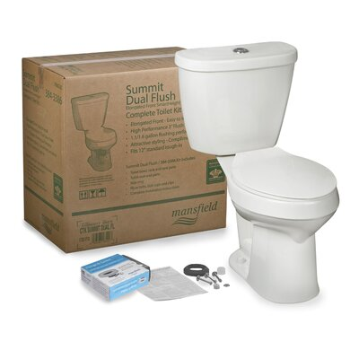 Summit CTK SmartHeight? Dual Flush Elongated Two-Piece Toilet