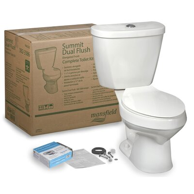 Summit CTK Dual Flush Elongated Two-Piece Toilet