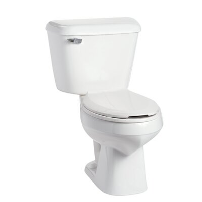 Alto 1.6 GPF Elongated Two-Piece Toilet Lever Location: Right-Hand