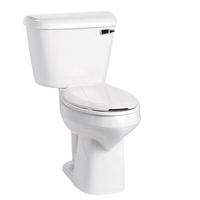 Alto SmartHeight 1.6 GPF Elongated Two-Piece Toilet Lever Location: Right-Hand