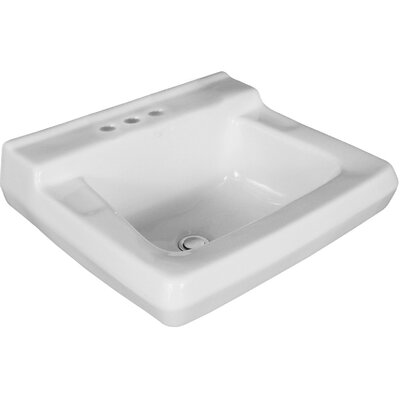 Willow Run 19.5 Wall mount Bathroom Sink with Overflow