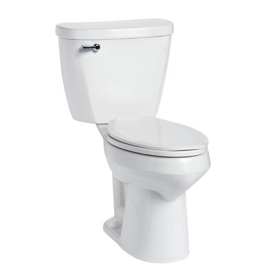 Summit 1.28 GPF Elongated Two-Piece Toilet
