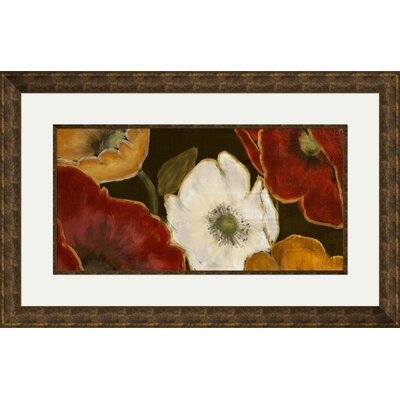 Beautiful Poppies I Framed Painting Print 2-11342A