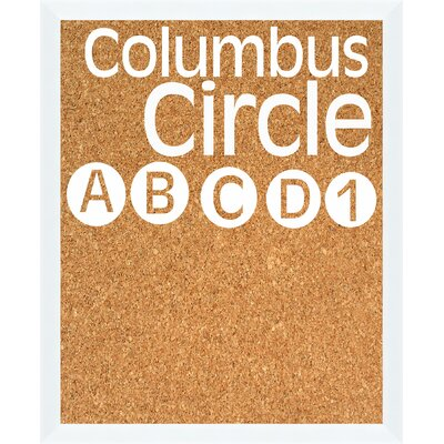 PTM Images Columbus Circle Bulletin Board 4-4159