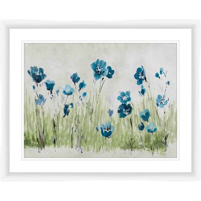 Botanical Soft Floral Framed Painting Print 1-21941