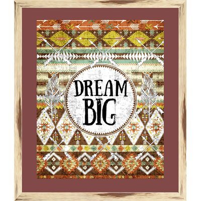 Boho Dream Big Framed Painting Print